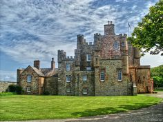The Castle of Mey, formerly owned by HM Elizabeth, The Queen Mother. Hereditary seat of power of Clan Sinclair. (of my maternal line).