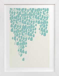 It's Raining Red by Rose Lindo at minted.com