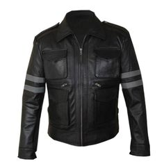 LEON KENNEDY RE6 LEATHER JACKET - by stinson leathers