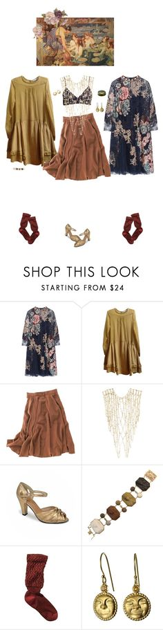 """""""nymph"""" by vogelprinz ❤ liked on Polyvore featuring Biyan, See by Chloé, Madewell, Rosantica, Lava and WALL"""