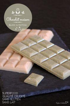 Chocolat blanc cru maison- sans lactose