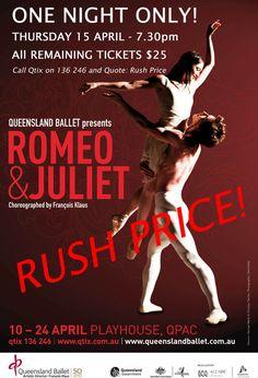 Queensland Ballet - Romeo and Juliet.