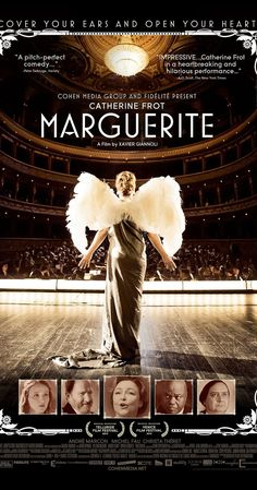 Paris, 1920s. Marguerite Dumont is a wealthy woman, lover of the music and the opera. She loves to sing for her friends, although she's not a good singer. Both her friends and her husband have kept her fantasy. The problem begins when she decides to perform in front of a real audience.