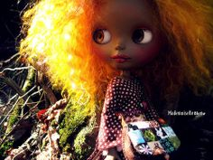 Ambre, my new beautiful Black Blythe