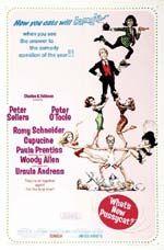 Era il 1965. Woody Allen, già affermato autore comico e stand up comedian, esordisce sul grande schermo come attore in Ciao Pussycat, tratto da una sua sceneggiatura e diretto da Clive Donner. Il cast per l'epoca è da sogno: Peter O'Toole, Peter Sellers, Romy Schneider, Paula Prentiss e Ursula Andress