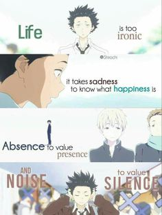63 Best A Silent Voice Images In 2019 Sad Anime Quotes Manga