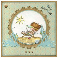 Marianne Design Holiday App (DDS3352), Craftables Basic Round (CR1331), Creatables Delphin (LR0332), Clear Stamps Deutsche Sprüche (CS0920), Pretty Papers Bloc Eline's Peach & Mint, Enamel Sticker Black & White (PL4503)