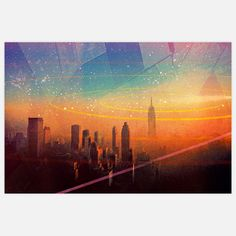 NYC Print 30x20 now featured on Fab.