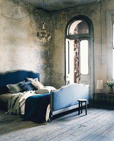 BoHo / Bohemian inredning & ditt-o-datt...: Sovrum med karaktär, stil och känsla för detaljer...