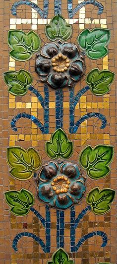 Many of the older town houses in the University District of Vorbarr Sultana have facades covered in tiles. Countess Olivia Vorrutyer's marvellous book about the old houses of Vorbarr Sultana highlights these pretty homes (Parisian tiles)
