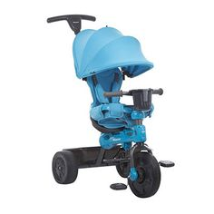 35733a28a85 JOOVY Tricycoo Tricycle, Blue Bicycle Safety, Bicycle Parts, 4 In 1, The