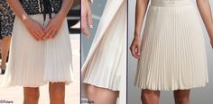 The Duchess was likely wearing the Whistles Lina Dobby Skirt she has been seen in.
