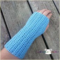 CROCHET PATTERN - Wrist Warmers
