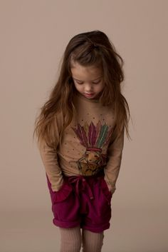 Gorgeous decorated T-shirt from Soft Gallery for kidswear fall / winter 2013