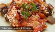 The Delia Smith Project (#66) from Eine Kugel Vanilla: Baked Aubergines with Tomatoes