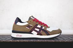 ASICS GT-II Olive/Brown/Red   HYPEBEAST