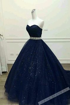Dark Blue Tulle Prom Dress, Sweetheart Sequins Prom Dress, Floor-Length A -Line . Dark Blue Tulle Prom Dress, Sweetheart Sequins Prom Dress, Floor-Length A -Line Prom Dress Source by katharinasem Princess Prom Dresses, Unique Prom Dresses, Elegant Dresses, Pretty Dresses, Homecoming Dresses, Long Dresses, Wedding Dresses, Dresses Dresses, Bridesmaid Dresses