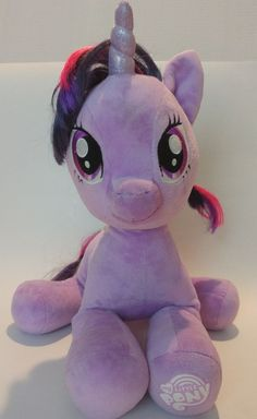 6cc96390fee Build A Bear My Little Pony Twilight Sparkle Purple Unicorn Plush Horse 16