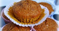 Magdalenas integrales de calabaza Pumpkin Recipes, Veggie Recipes, Healthy Recipes, Look And Cook, Biscuits, Sweet Cooking, Cookie Cups, Cupcake Cakes, Cupcakes