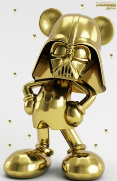 """come to the disney side of the force"" The Golden Project by Antoni Tudisco"