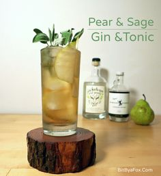 The Pear & Sage Gin & Tonic