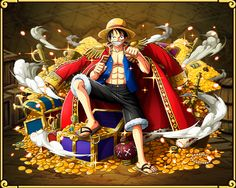 Monkey D. Luffy In the Wake of an Endless Dream – Straw Hat Pirates Leader of the Straw Hat...