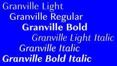Granville | Slanted - Typo Weblog und Magazin