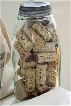 Source from Napa Valley say's they won't be using cork in bottles anymore~better grab 'em while ya can!