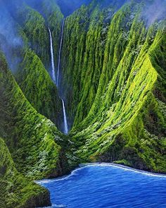 Travel Discover Waterfall In The Mountains In Molokai Hawaii. I& always wanted to live on Molokai. All Nature Amazing Nature Flowers Nature Places To Travel Places To See Travel Destinations Beautiful World Beautiful Places Amazing Places All Nature, Amazing Nature, Flowers Nature, Dream Vacations, Vacation Spots, Vacation Packages, Places To Travel, Places To See, Travel Destinations