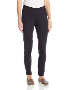 Outdoor Research Women's Centrifuge Pants, Black, Medium. Active insulation. Water-resistant. Wind-resistant, breathable. Hybrid mapped construction, lightweight, Quick-Drying, movement-mirroring stretch, anti-odor.