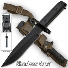 HEAVY DUTY SHADOW OPS AR15 BAYONET ** Check out the image by visiting the link.