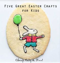 Five Great Easter Crafts for Kids!