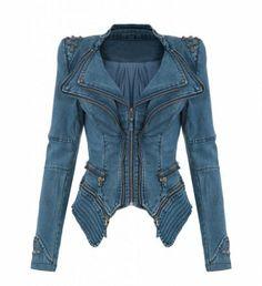 Moda Blazer tachuera chaqueta vaquera abrigo de mezclilla con remaches chaqueta spike jacket studd, http://www.amazon.es/dp/B00FQO06EA/ref=cm_sw_r_pi_awdl_zicqtb0ZSW5QR