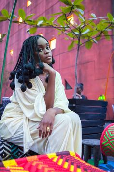 Falana Shares Her Lagos Fashion and Design Week Front Row Photo Diary Black Girls Hairstyles, African Hairstyles, Afro Hairstyles, Dark Skin Beauty, Hair Beauty, Curly Hair Styles, Natural Hair Styles, Black Girl Aesthetic, Afro Punk