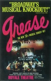 Grease (Broadway) Movie Posters From Movie Poster Shop