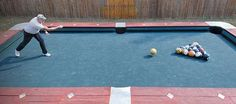 Steve Wienecke Creates a Giant Pool Game Dubbed Knokkers #mancave trendhunter.com