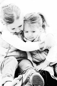 If I ever have two little girls.... would also be cute with brother and sister