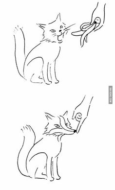 How to make a Fox in 2 steps.