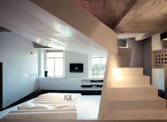 Small Apartment Futuristic Interior Design