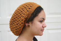 Kelechi Slouchy Beanie by Donna Rutledge-Okoro.  I've made this one a couple of times.  Nice pattern!