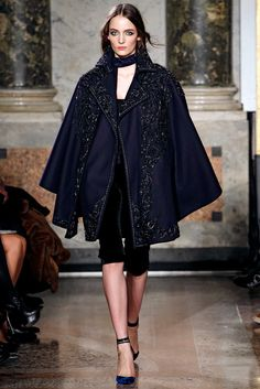 Emilio Pucci Fall 2011 Ready-to-Wear Fashion Show - Zuzanna Bijoch