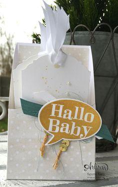"""Baby-Kärtchen"" Stampin´ Up! Artisan BlogHop"