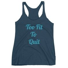 Printed Shirts and Tank Tops Printed Tees, Tank Top Shirt, Workout Shirts, Fitness Fashion, Athletic Tank Tops, My Style, Casual, Printed Shirts