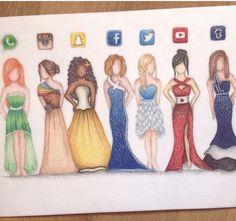 Social Media Inspired Dresses