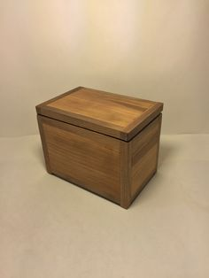 Mini cherry walnut storage box. //.etsy.com/ & Cherry walnut storage box. https://www.etsy.com/shop ...