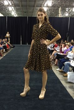 Butterick dress B6090. As seen at the 2014 American Sewing Expo.