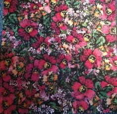 12x12 Femme Large Glitter Floral Cardstock by countrycroppers, $1.89