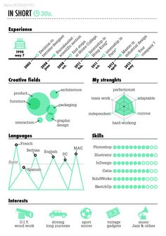 My Curriculum Vitae by Milos Novakovic, via Behance