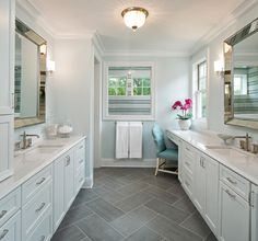 Powder Rooms & Master Baths – Grace Hill Design