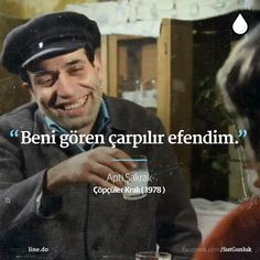 Apti Şakrak King of the Scavengers (Kemal Sunal Love Store, Famous Movie Quotes, How To Create Infographics, Music Theater, Charlie Chaplin, Vintage Cartoon, Galaxy Wallpaper, Film Movie, Literature